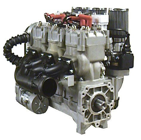 Inline  Cylinder Kawasaki Motorcycle Engine For Sale