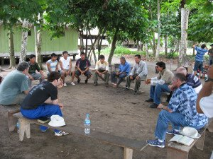 Peru men's meeting